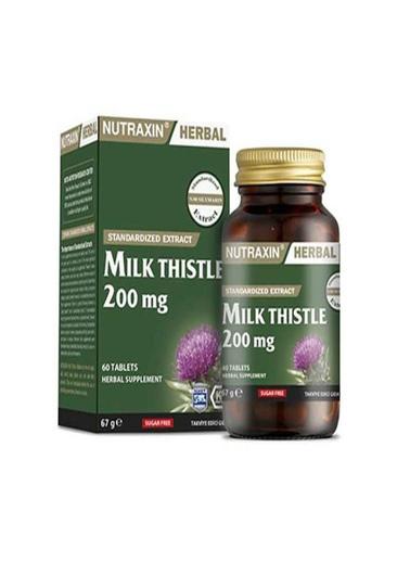 Nutraxin Nutraxin Milk Thistle 60 Tablet Renksiz